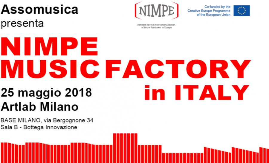 NIMPE Music Factory in Italy - 25 May, 2018 - Artlab Milano