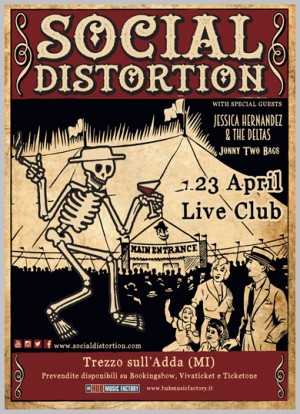 SOCIAL DISTORTION + Guests