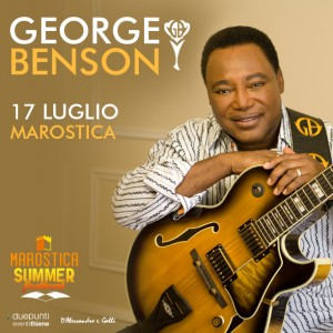 GEORGE BENSON - Unica data italiana