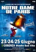 NOTRE DAME DE PARIS 23,24,25 giugno Cosenza