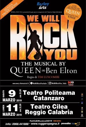 WE WILL ROCK YOU il Musical dei Queen