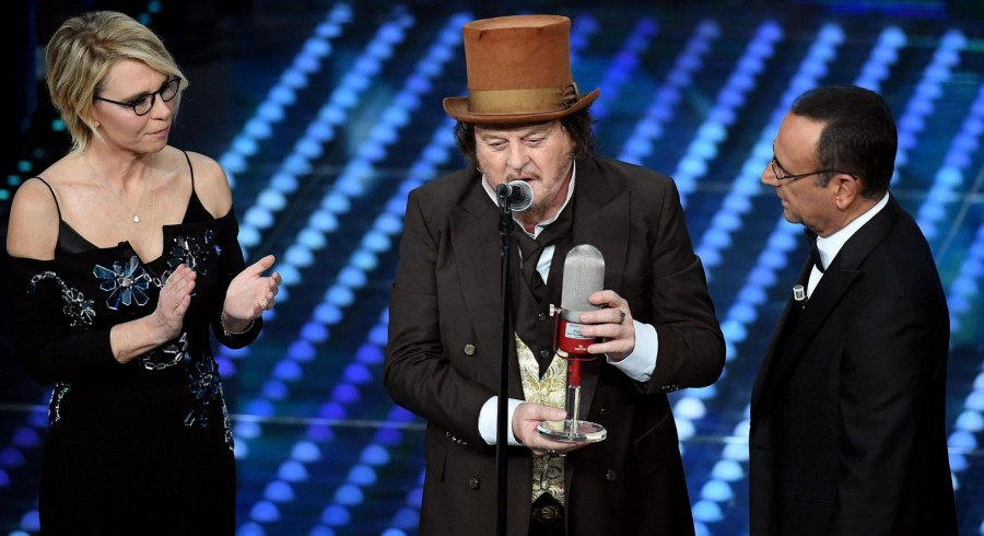 Assomusica awards Zucchero Sugar Fornaciari with the Best European Tour Award